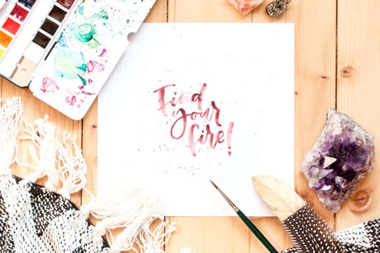 Find your Fire – Self-Motivation meets Lettering [Wien]